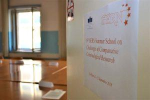 GERN doktorska poletna šola na Fakulteti za varnostne vede