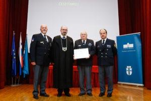 Priznanje zvezi policijskih veteranskih društev Sever